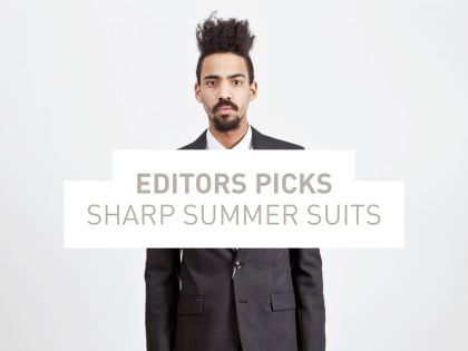 Sharp Summer Suits